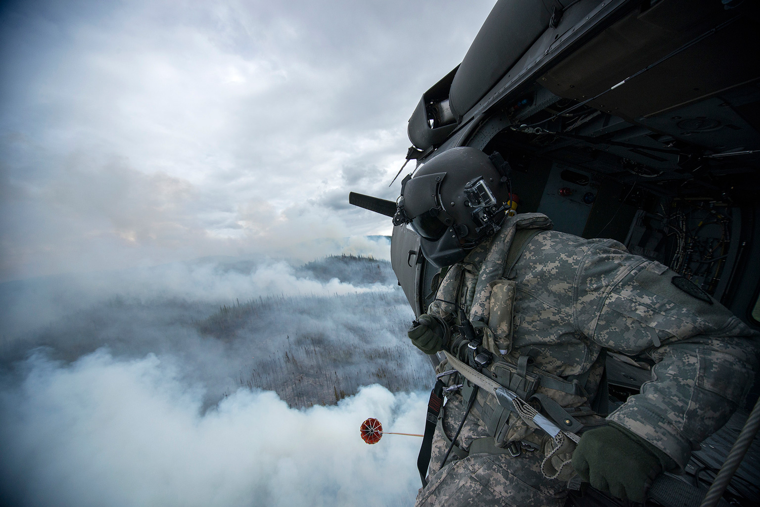 The Alaska Army National Guard are joining firefighting efforts in Alaska this summer.
