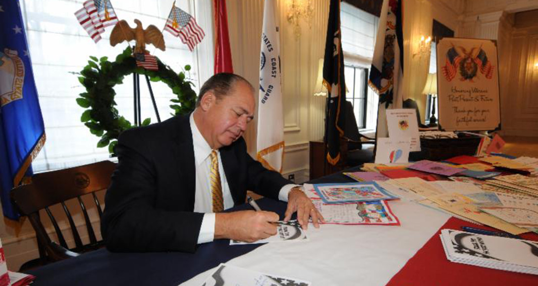 Gov. Tomblin, in November of 2013.